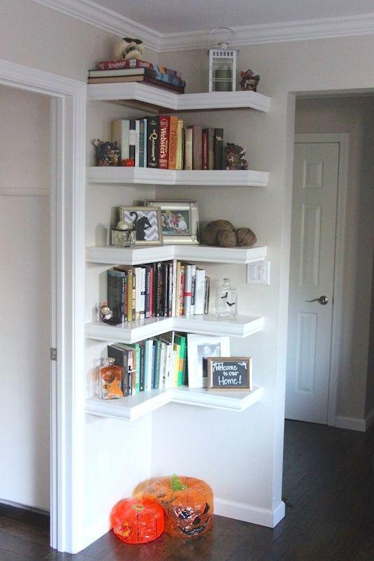 Corner shelving - Listotic