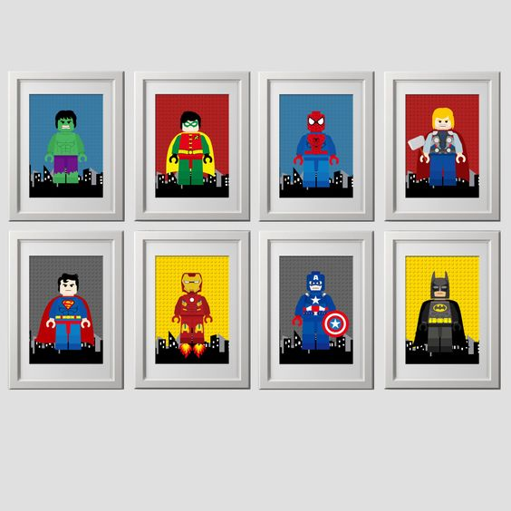 set-of-8-lego-superhero-wall-art-digital-files-instant-download-8x10-inch-prints-etsy-com