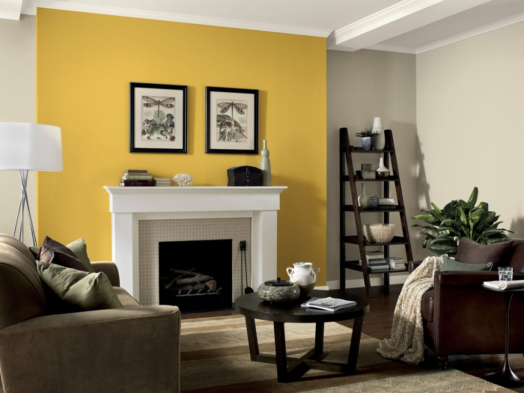 yellow-feature-wall-pinterest-com