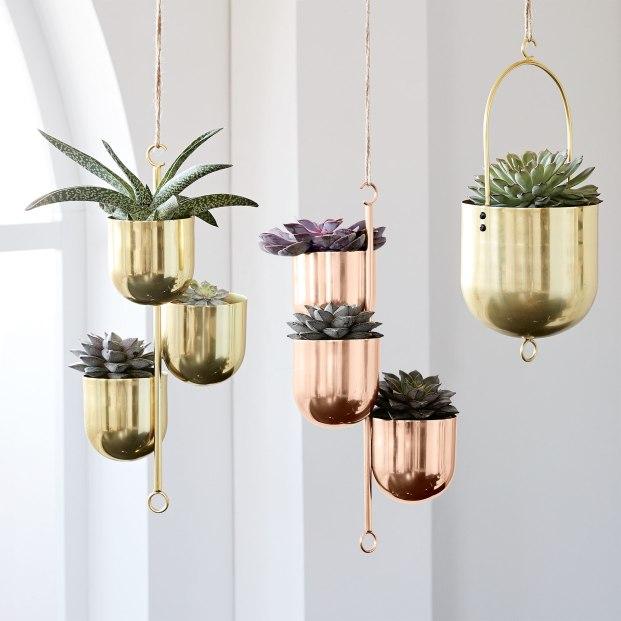 Hanging Metal Planters £49
