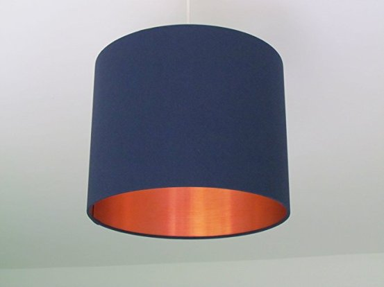 Lampshade burshed with copper - Amazon