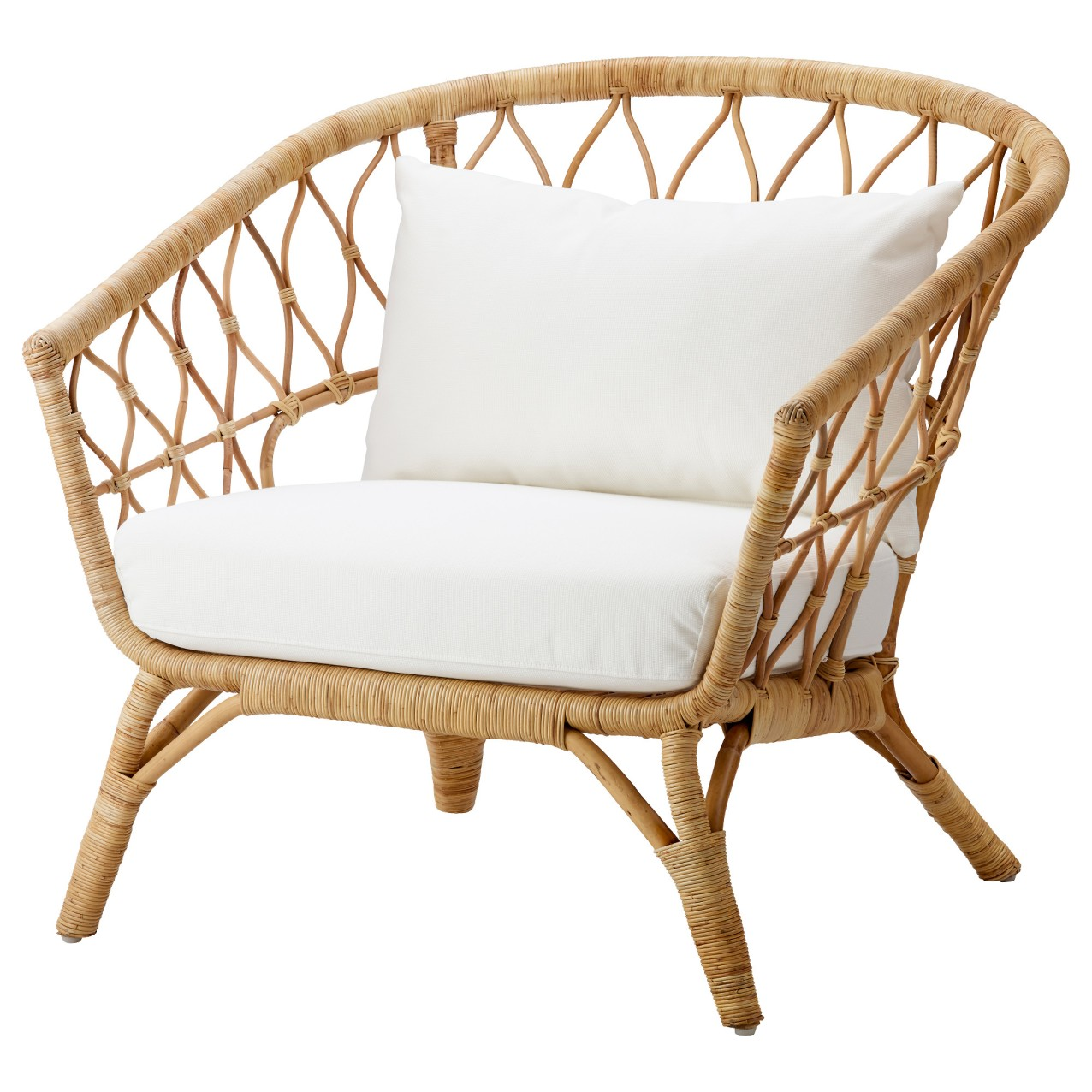 Armchair with cushion - Stockholm £175
