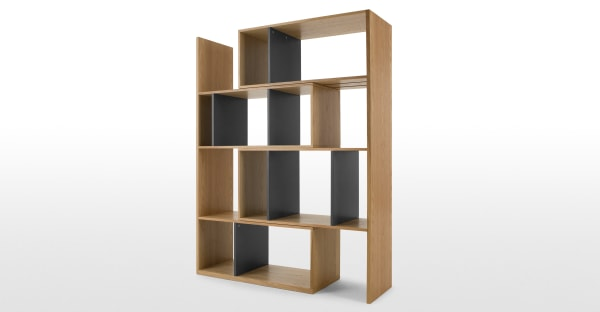 MADE.COM - Kya shelving unit - brown