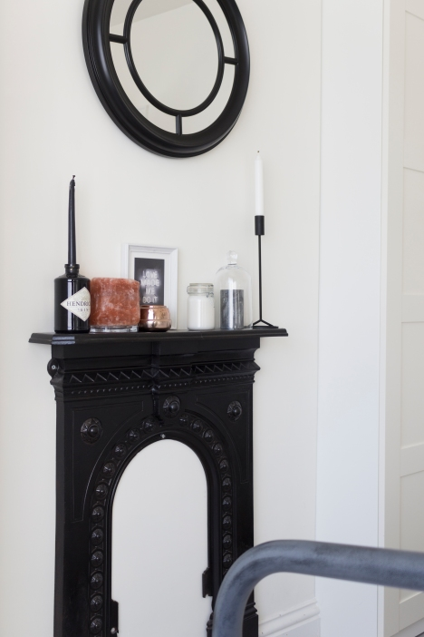 treasure - fire surround in the bedroom