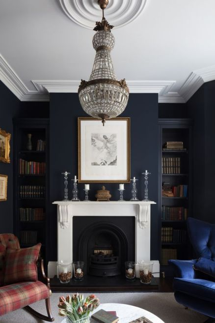 black interiors2 - pinterest