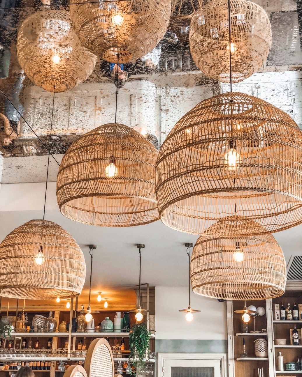 Rattan light pendants-Photo by Vincent Rivaud from Pexels